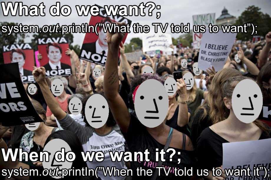 what do we want npc