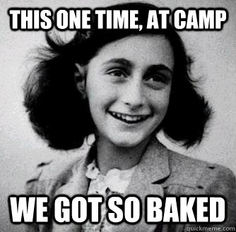 anne frank so baked