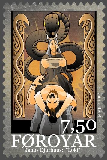 loki faroe stamp